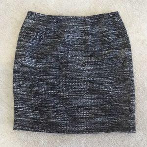 Anne Taylor tweed skirt